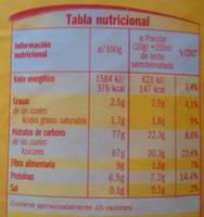 Cacao classic - Información nutricional - es