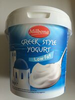 Greek style yogurt low fat - Produit