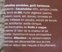 Cruspies BBQ - Ingrédients - fr