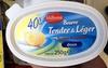 Beurre Tendre & Léger 40% MG doux - Produit