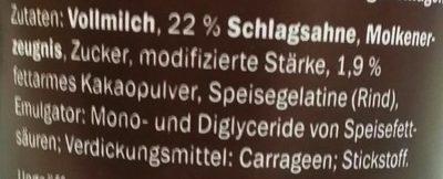 Lockerer Softpudding, Schokolade - Ingrediënten - de