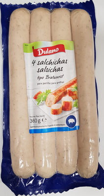 Salchichas tipo Bratwurst - Producte - es