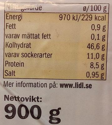 Kvarnvingen Gårdslimpa - Informations nutritionnelles - sv