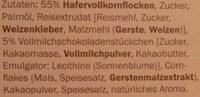 Crownfield Knusper Schoko Müsli - Ingredients - de