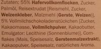 Crownfield Knusper Schoko Müsli - Ingredienti - de