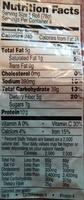 Four multi grain rolls - Nutrition facts - en