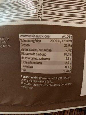 Panecillos Tostados Ajo y Perejil - Información nutricional - fr