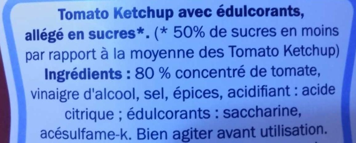Ketchup light - Ingredienti