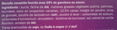 NEO - Ingrédients - fr
