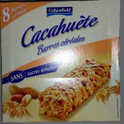 Cacahuète Barres Céréales - Produit