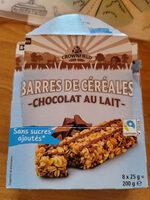 Barres de céréales Chocolat au lait - Prodotto - fr