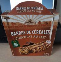 Barres de céréales - chocolat au lait - Produkt