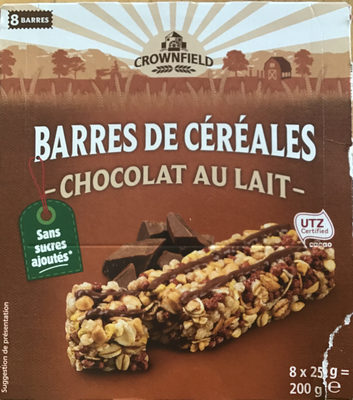 Barres de céréales - chocolat au lait - Product - fr