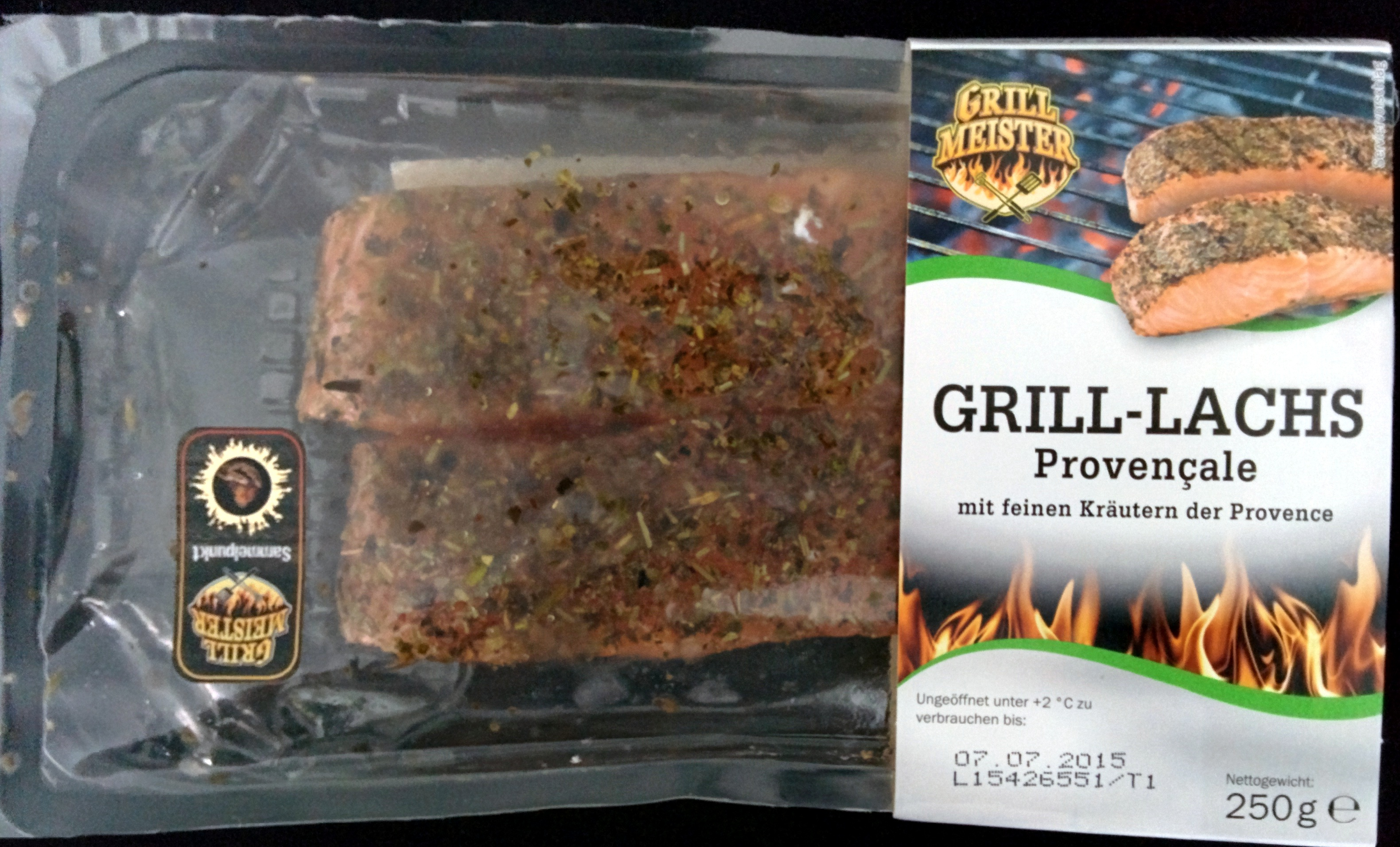 Grill Lachs Provençale Grill Meister 250 G