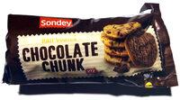 Half Coated Chocolate Chunk Cookies - Product