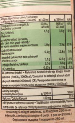 bio organic - Voedingswaarden - fr