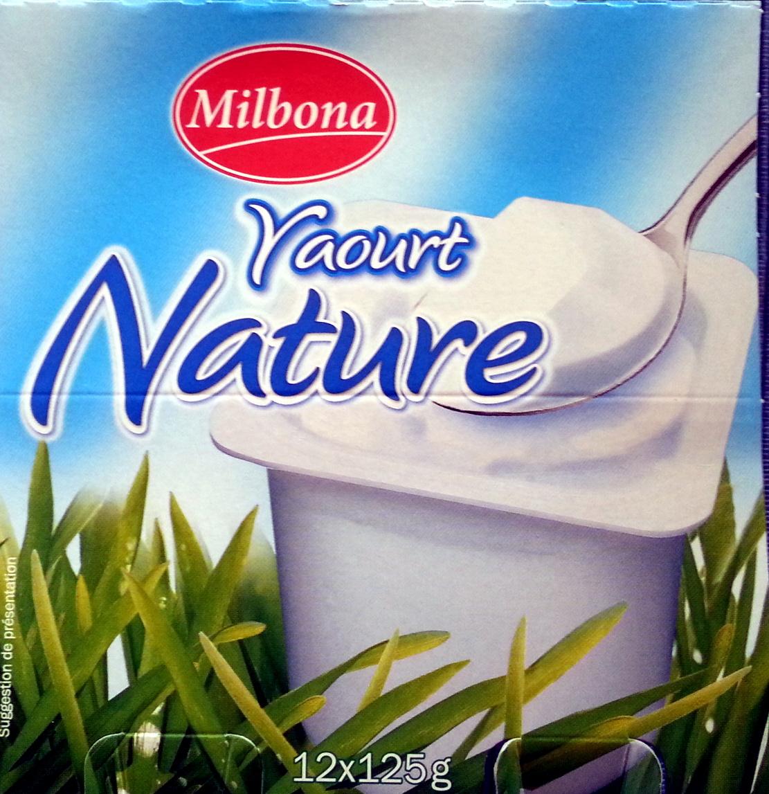 Yaourt Nature - Produit