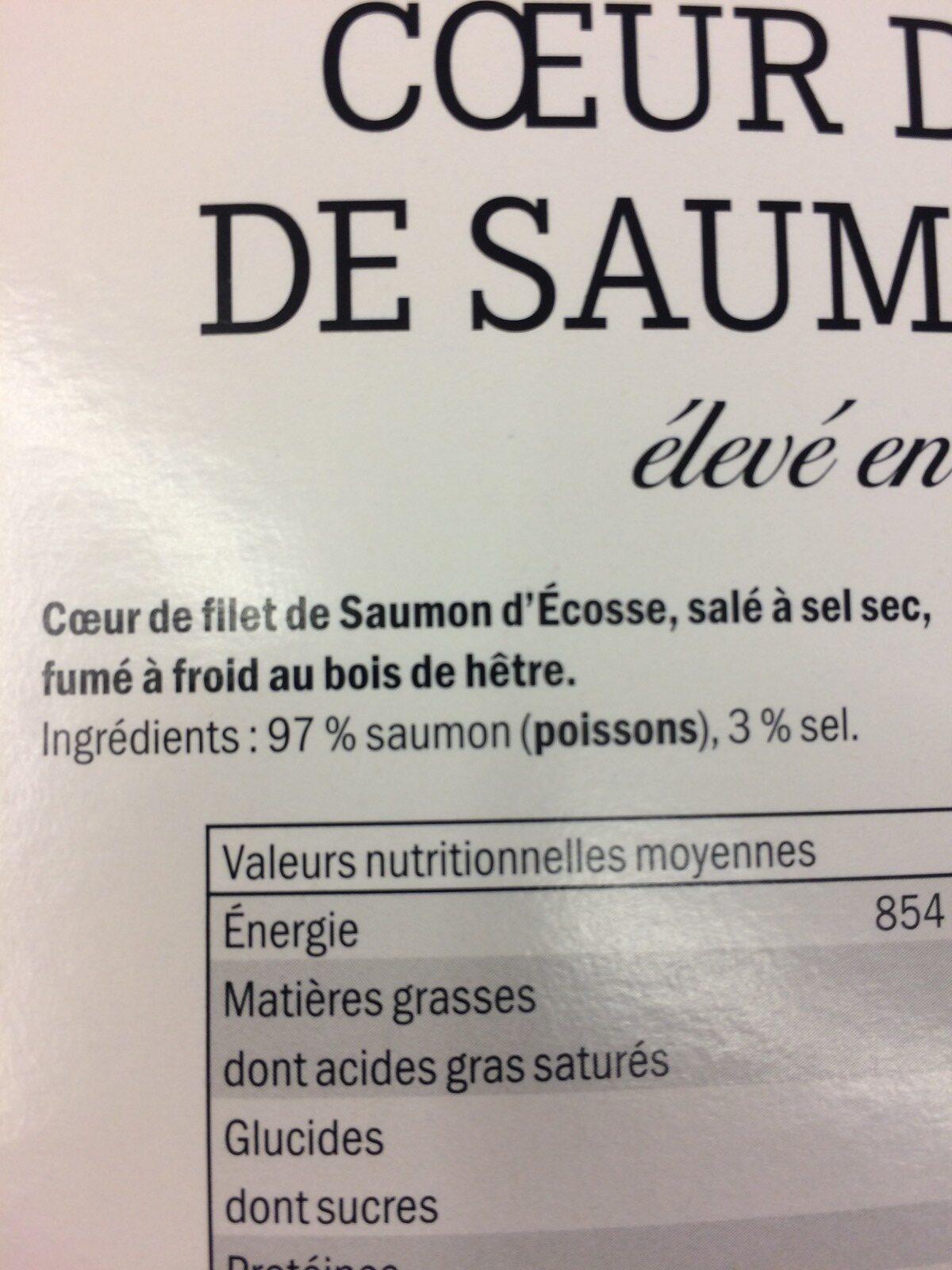 Kerst: Salmon Fillet Pak 150 Gram (deluxe) - Ingrédients - fr