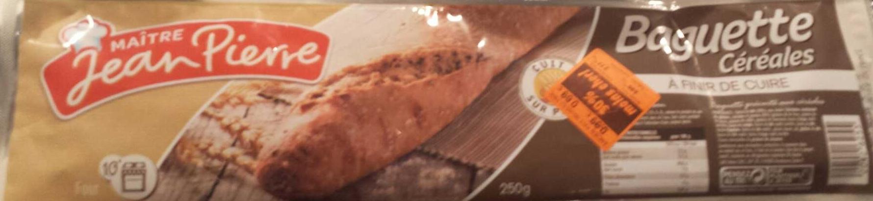 Baguette céréales à finir de cuire - Product