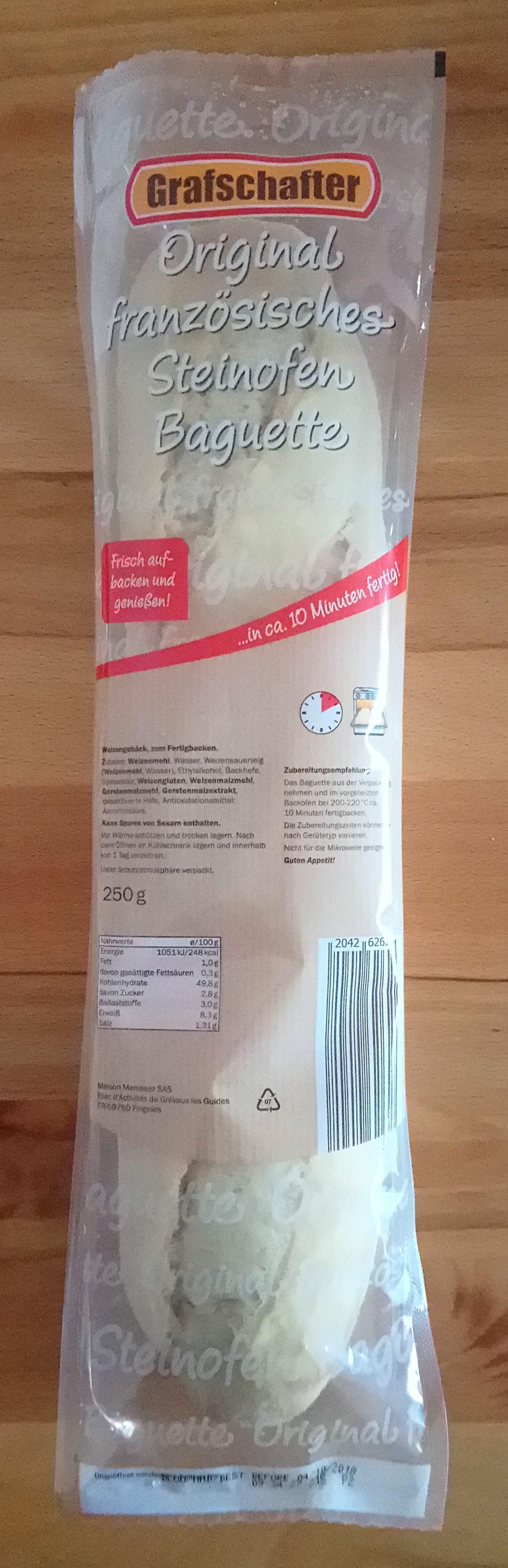 Original französisches Steinofen Baguette - Product - de