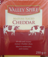 British mature sliced cheddar - Produkt - pl