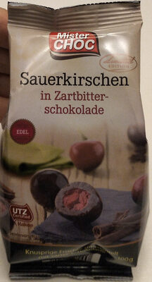 Sauerkirschen in Zartbitterschokolade - Prodotto - de