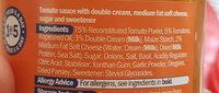 Creamy tomato pasta bake - Ingrédients