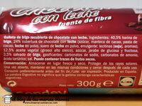 Digestivo chocolate con leche - Ingredientes - es