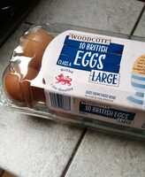 10 British Eggs Class A Large - Product