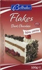 Dark chocolate flakes 50% cocoa - Produit