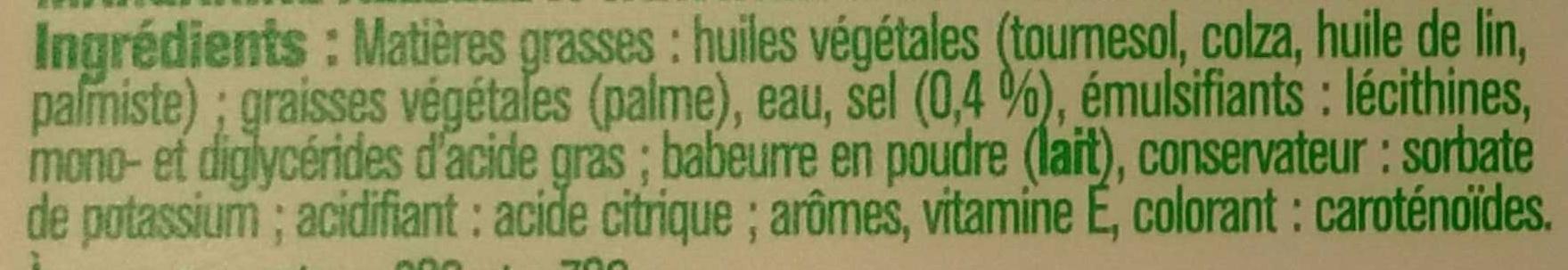 Tartine & Cuisson Doux - Ingredients - fr