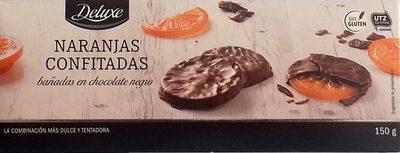 Naranjas confitadas bañadas de chocolate negro - Product