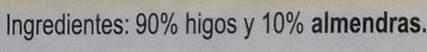 Pan de higo con almendra - Ingredients