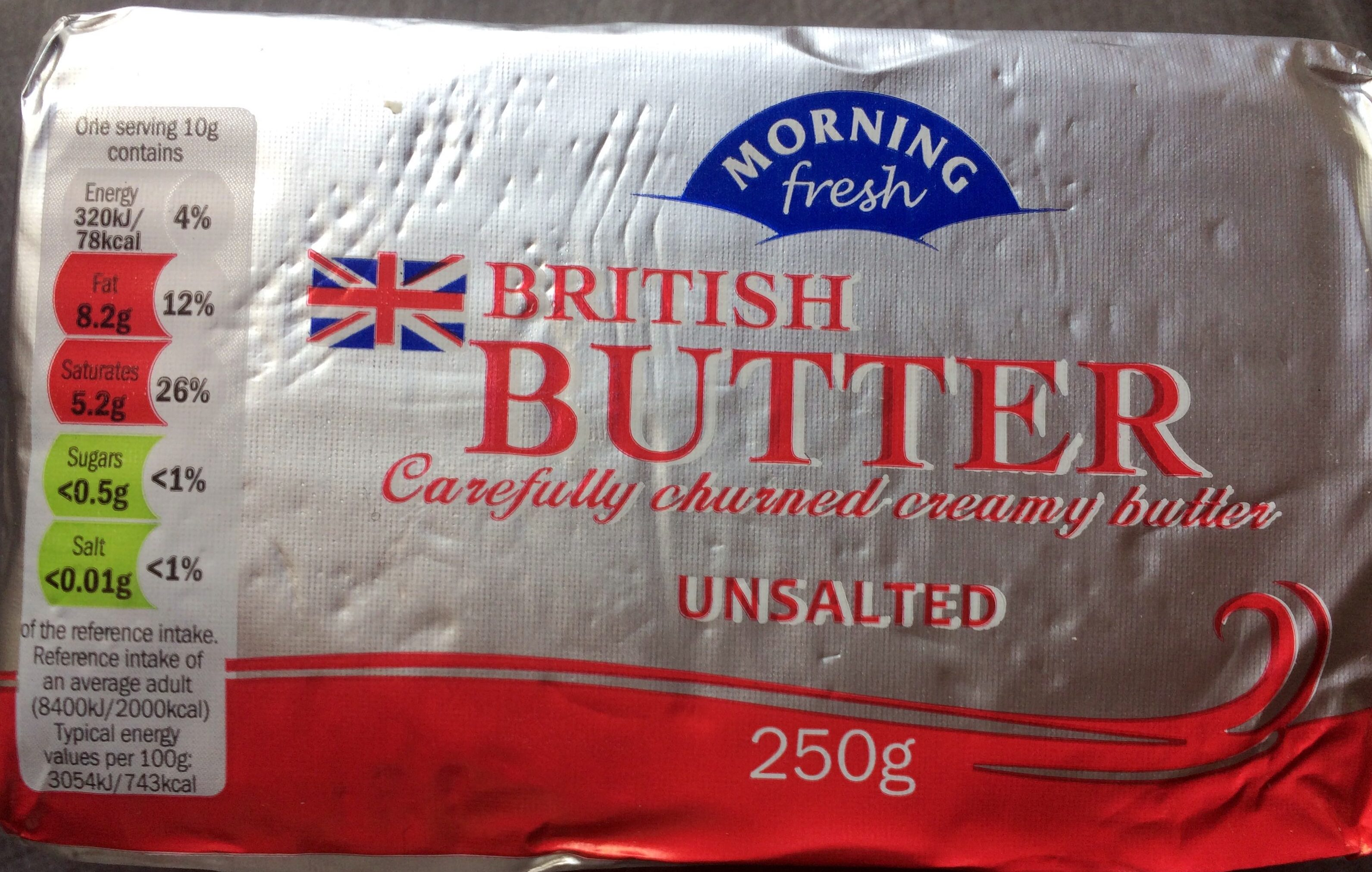 British butter - unsalted - Product