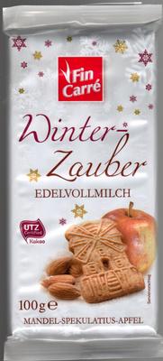 Winter-Zauber Edelvollmilch - Mandel-Spekulatius-Apfel - Product