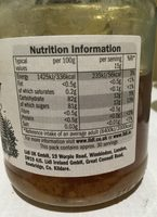 Miel Clair - Nutrition facts - fr