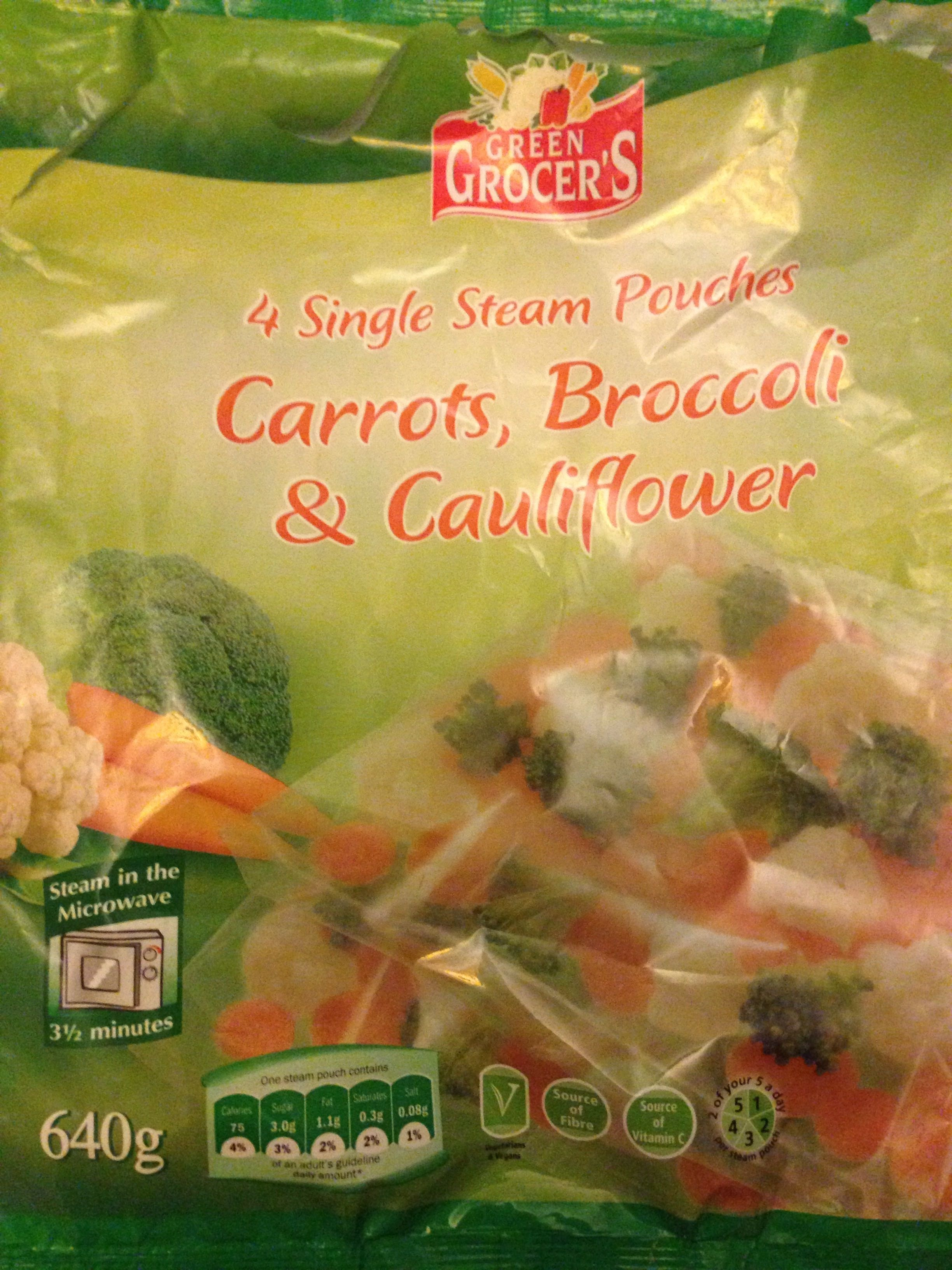 Carrots, Broccoli & Cauliflower - Product