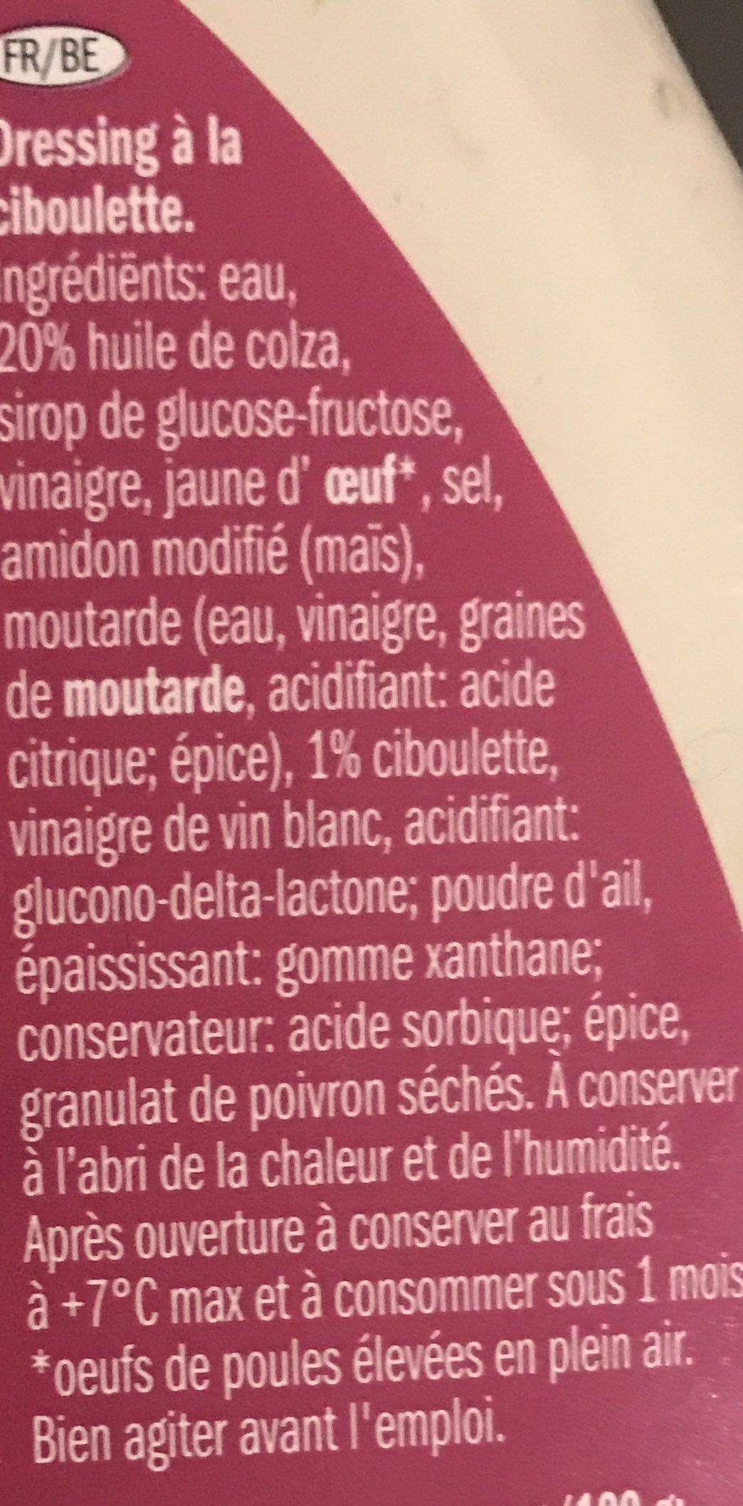 Vinigrette - Ingrediënten - fr