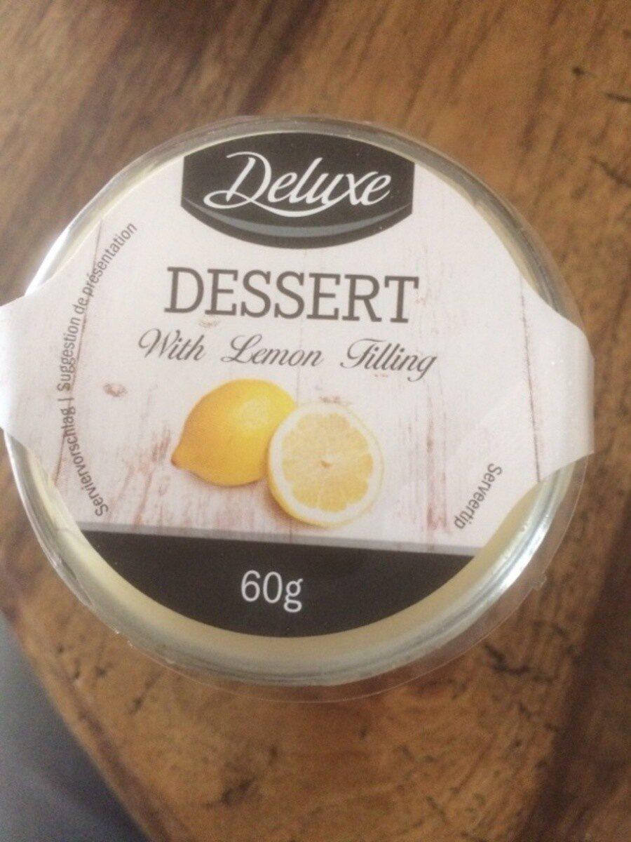 Dessert with lemon - Produit - fr