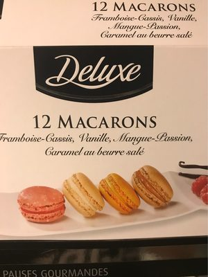 12 Macarons - Product