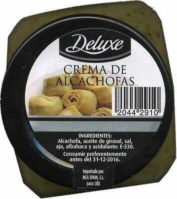 Crema de alcachofas - Product - es