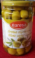 Green olives - Produit - fr