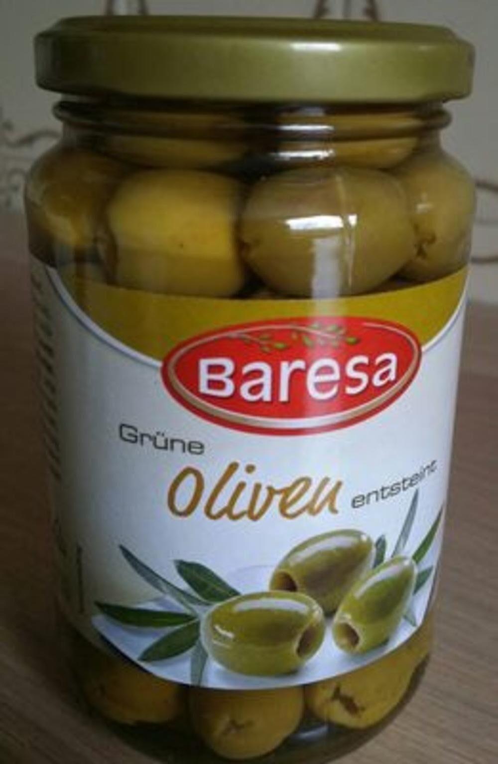 Green olives - Valori nutrizionali - fr