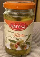 Grüne Oliven gefült - Produkt - fr