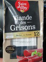Viande de grisons - Produit - fr