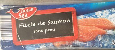 Filets de saumon sans peau - Produit - fr