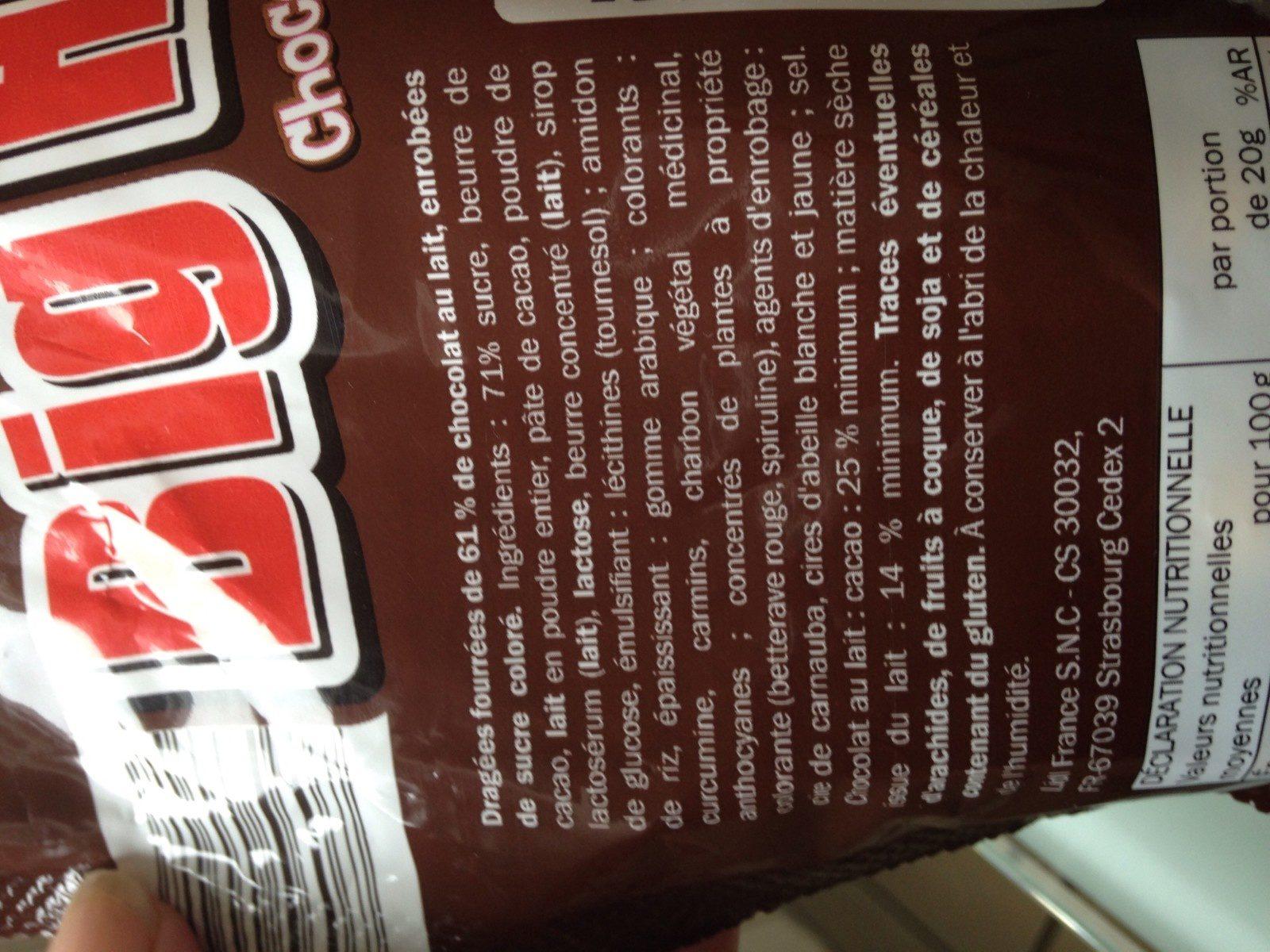 Big Hit chocolat - Ingredientes - fr