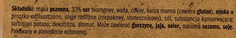 Pierogi s serem - Składniki - pl