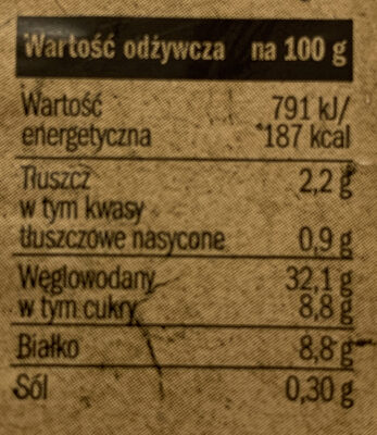 Pierogi s serem - Wartości odżywcze - pl