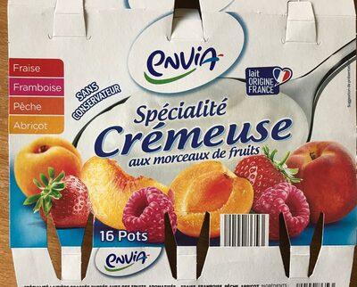 Recette crémeuse aux morceaux fruits - Product - fr
